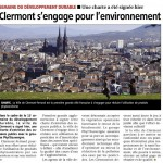 Odile Vignal a signé la charte Phyt'eauvergne pour la ville de Clermont-Ferrand