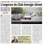 Le Club Climat Energie est lancé sur l'agglomération : une idée portée par les élus écologistes de Clermont-Ferrand