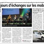 Deux jours déchanges sur les mobilités de demain : Congrès national de France Nature Environnement