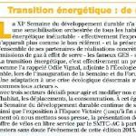 Odile Vignal lance la XIè semaine du Développement Durable à Clermont-Ferrand