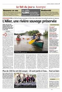 Allier rivière sauvage